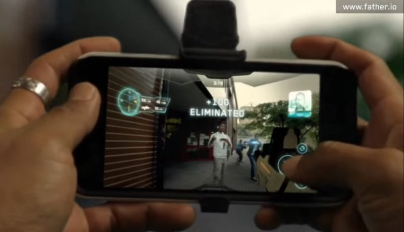 Father.IO: World's First AR Smartphone Laser Tag