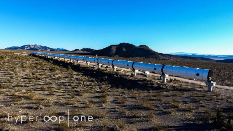 Hyperloop One Reveals First Test Track in Nevada Desert
