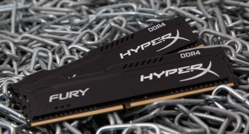 HyperX Further Expands Fury DDR4 Memory Line and Adds AMD Ryzen Support