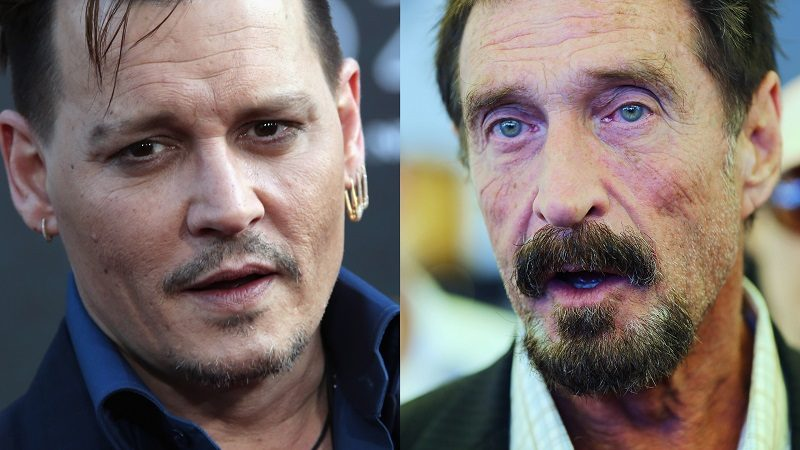 Johnny Depp to Portray John McAfee in Movie Biopic