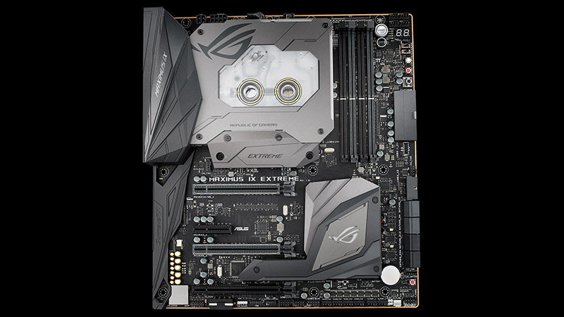New Flagship ASUS RoG Maximus IX Extreme Motherboard Launched