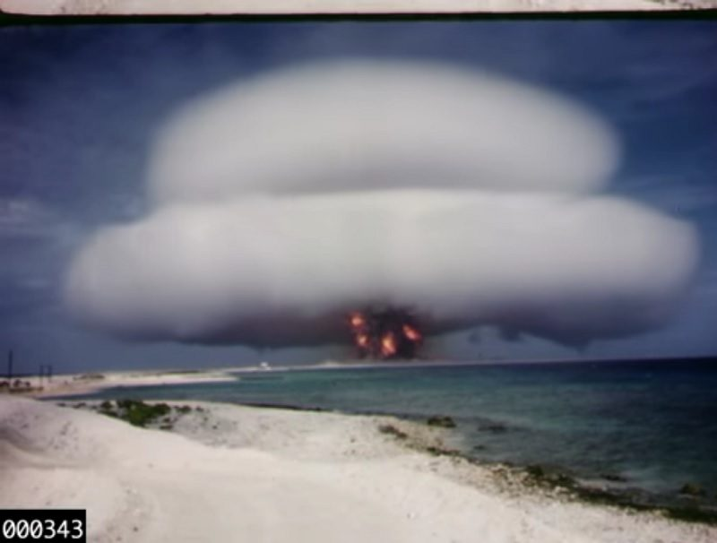 Declassified Nuclear Test Footage Now on YouTube