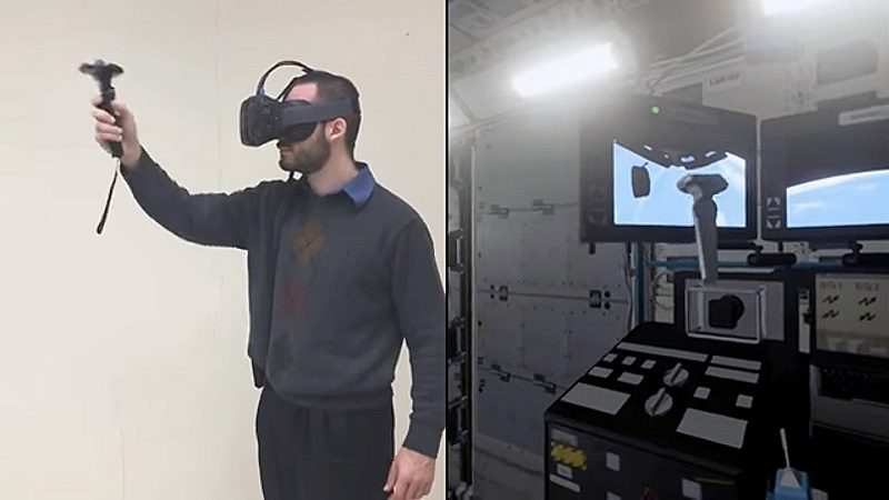 NASA Using Unreal Engine 4 Virtual Reality to Train ISS Astronauts