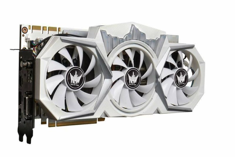 Official Photos of GALAX GTX 1080 Ti Hall of Fame Edition Surface