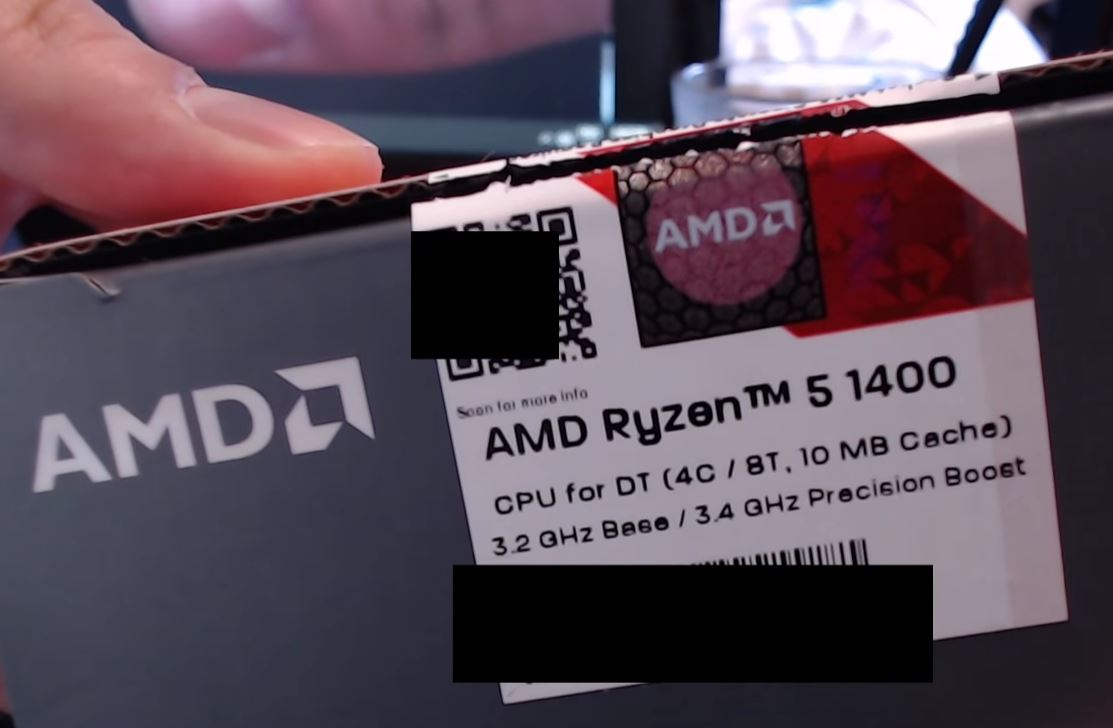 AMD Ryzen 5 1400 Gaming Benchmarks Leaked vs i5 7400 and