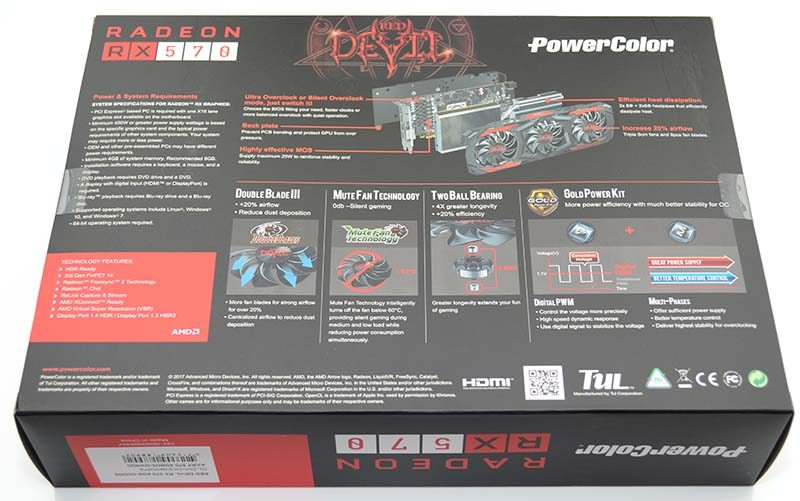 PowerColor Red Devil Radeon RX 570 4GB Review | eTeknix