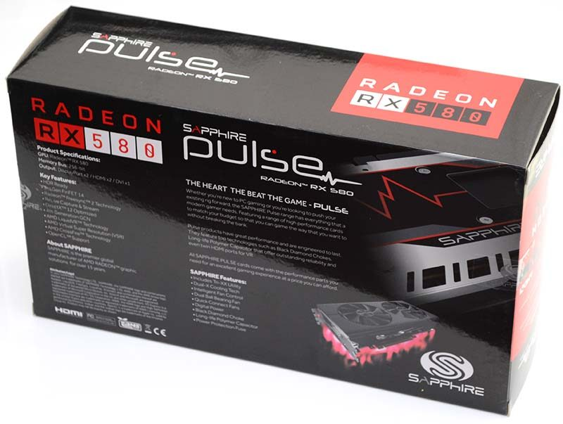 Sapphire Pulse Radeon Rx 580 8gb Graphics Card Review Eteknix
