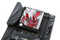 EKWB Announces AM4 Monoblock for ASUS ROG Crosshair VI Hero Motherboard