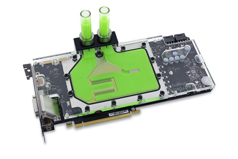 EKWB Full-Cover Water Blocks for EVGA GTX 1080 FTW2 Series Launched