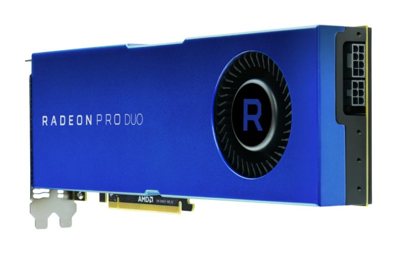 AMD Introduces Radeon Pro Duo Professional Graphics Card
