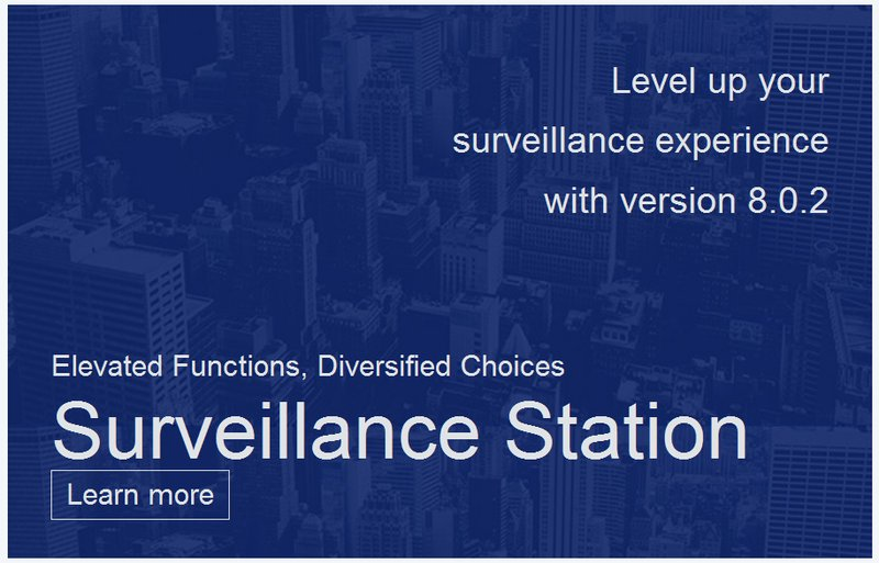 Synology Surveillance Station 8 0 2 Officially Launched