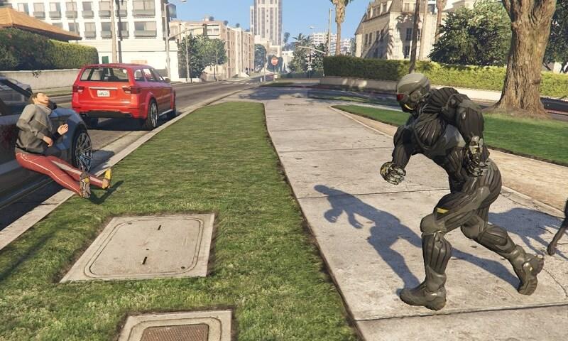 Can it Run Crysis? GTA V Mod Adds Nanosuit! | eTeknix