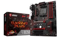 MSI Introduces B350 Gaming Plus AM4 Motherboard