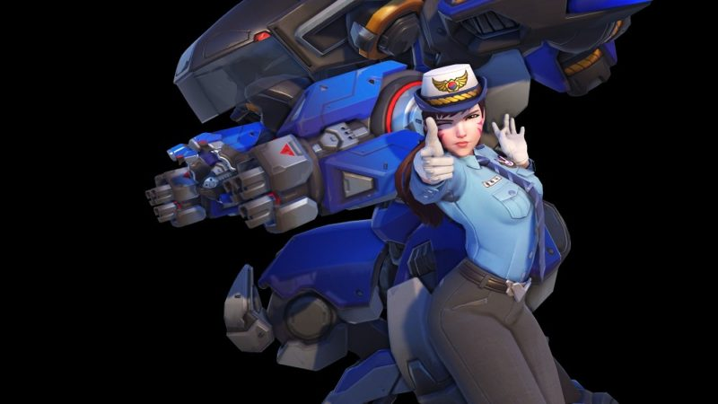 D.Va from Overwatch is Coming to Heroes of the Storm