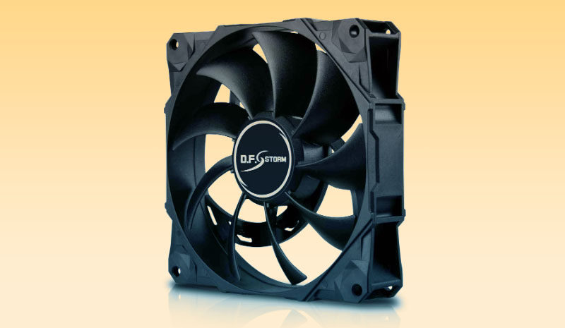 New Enermax D.F. Storm Fan is Self-Cleaning and Runs Up to 3,500 RPM
