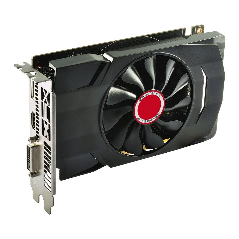 XFX Releases Single-Slot and Low-Profile RX 550 Video Cards