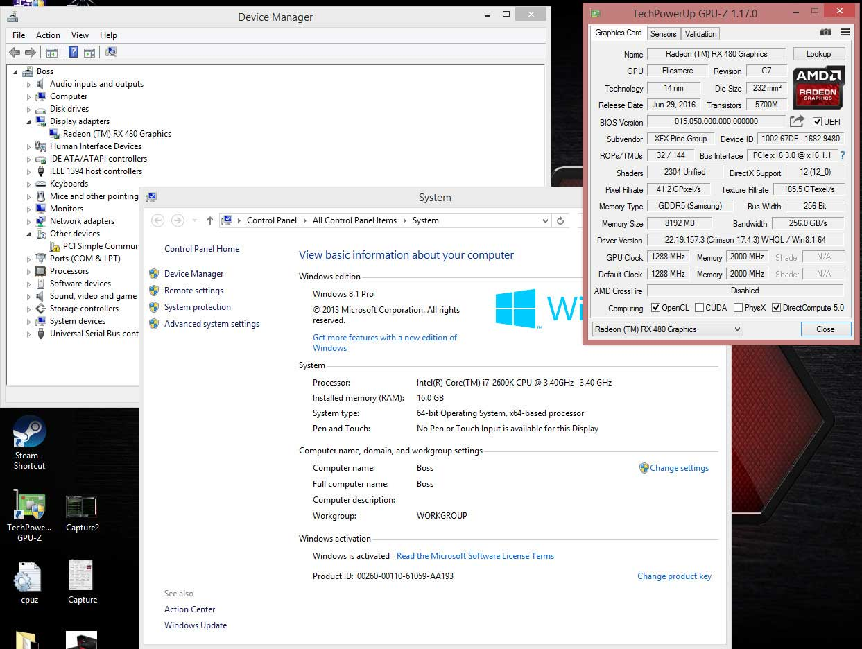 Amd Radeon Rx 480 Video Card Successfully Flashed To Rx 580 Eteknix