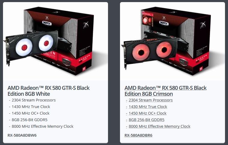 XFX Announces Five Radeon RX 580 Graphics Card Models | eTeknix