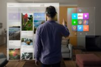 NetFlix Building App for Microsoft HoloLens Augmented Reality Headset