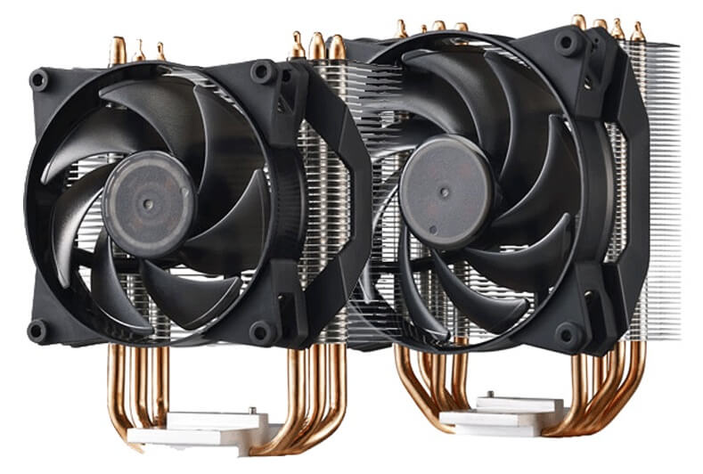 Cooler Master MasterAir Pro 3 and 4 CPU Cooler Review