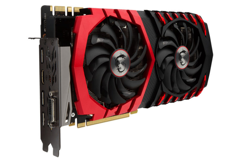 MSI GTX 1080 Gaming X Plus Cranks Up GDDR5X Memory Speed to 11Gbps