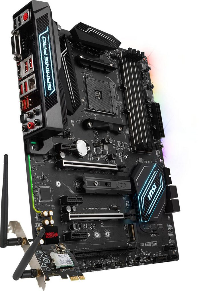 MSI Introduces X370 Gaming Pro Carbon AM4 Motherboard