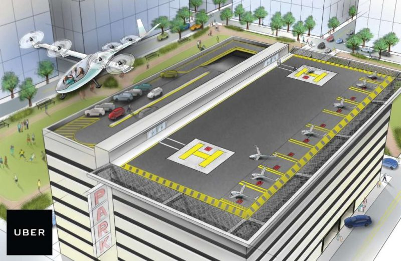 Uber Flying Cars to Take Flight in Dubai and Texas by 2020