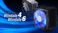 FSP Launches Windale CPU Air Coolers