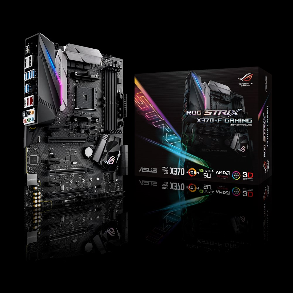 ASUS Introduces ROG STRIX X370-F Gaming AM4 Motherboard | eTeknix
