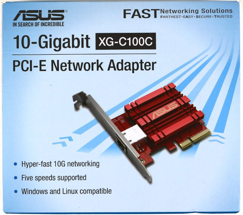 ASUS XG-C100C 10GBase-T Network Adapter Review | eTeknix