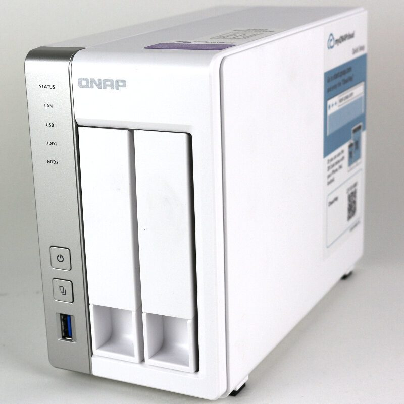 Affordable QNAP TS-231P 2-Bay SOHO NAS Review | eTeknix