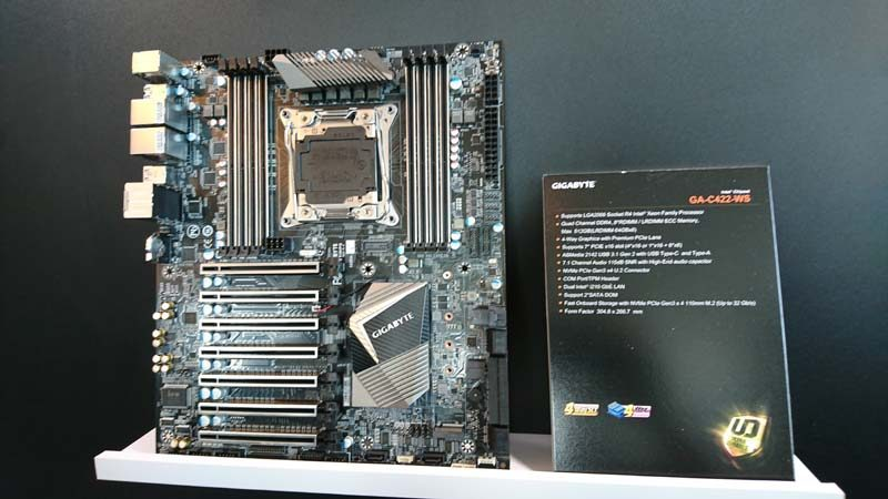 Gigabyte X299 Motherboards and More at Computex 2017 | eTeknix