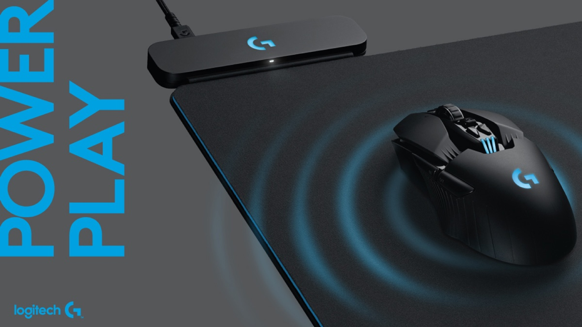 Logitech's Wireless Charging Mousepad Is Pure Genius