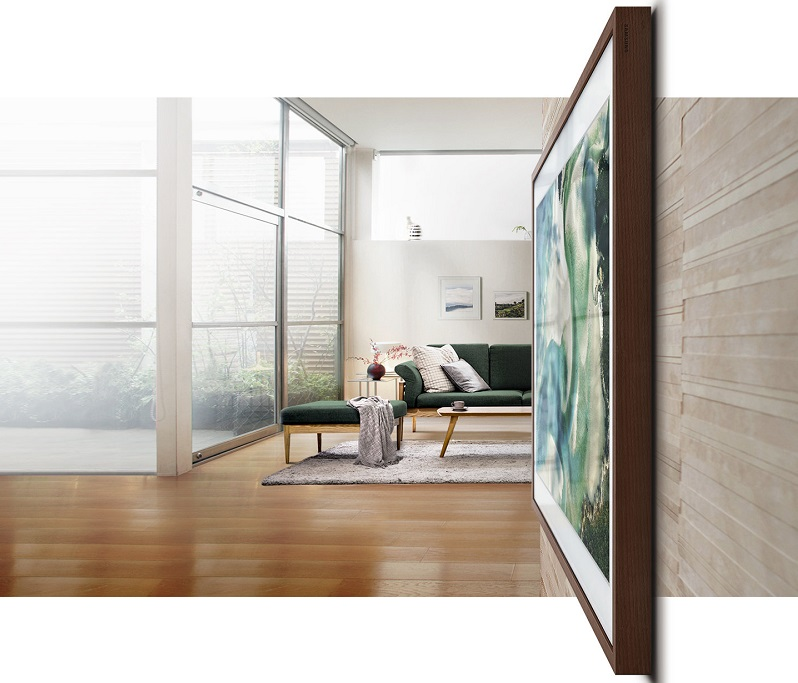 """Samsung's """"The Frame"""" Wall-mounted 4K UHD TV Now Available ..."""