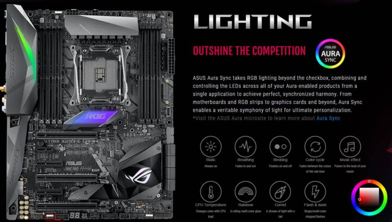 ASUS RoG STRIX X299-E Gaming Motherboard Preview | eTeknix