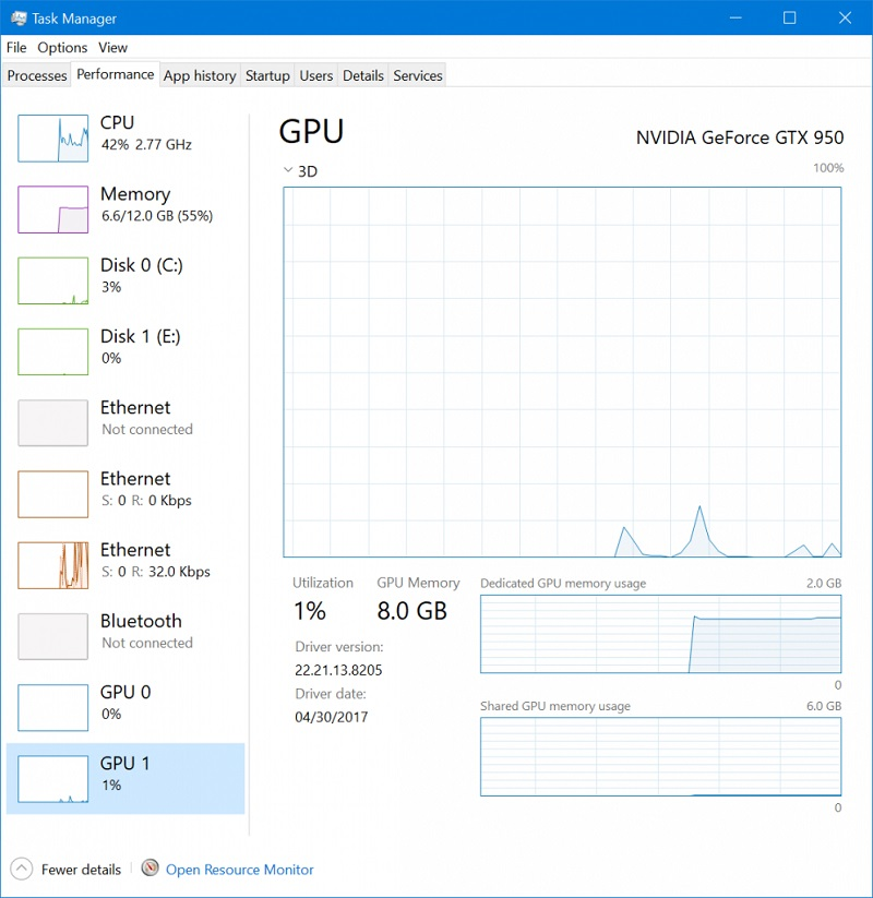 Windows 10 Adds GPU Utilization Panel to Task Manager | eTeknix