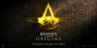 Assassin's Creed Origins Pre-Alpha Gameplay Shown at Xbox E3 Event