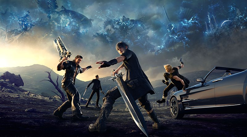 Final Fantasy XV: Big Announcements to Come at Gamescom