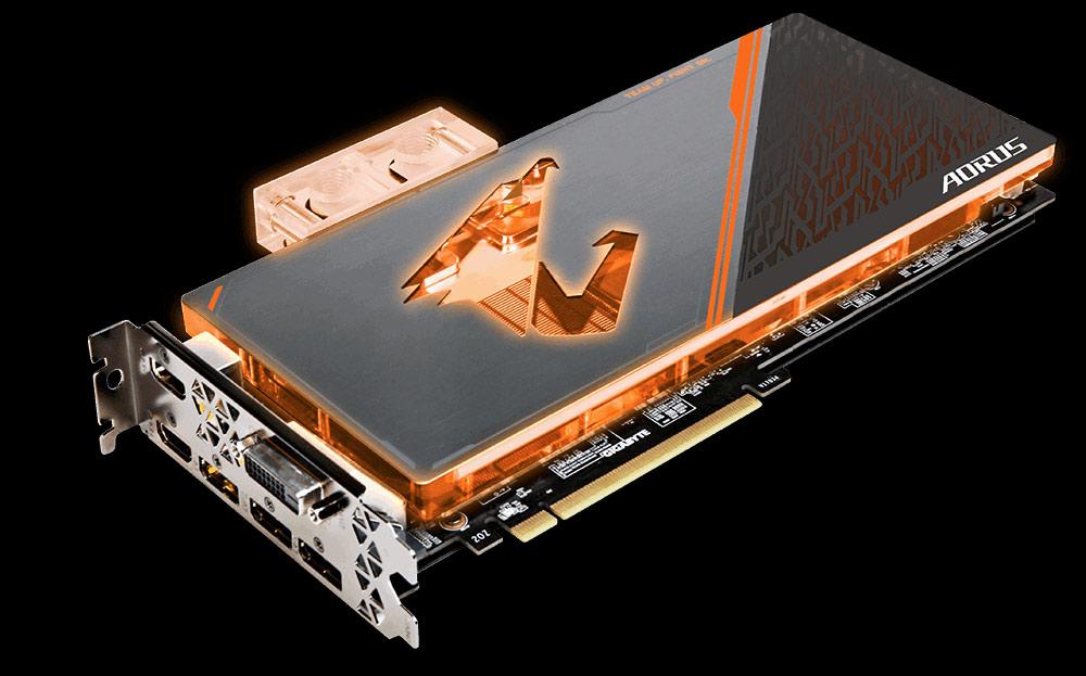 GIGABYTE GTX 1080 Ti WaterForce WB Xtreme 11GB Video Card