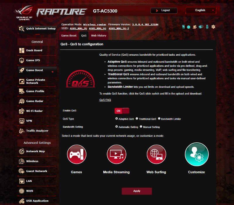 ASUS ROG Rapture (GT-AC5300) Enthusiast Router Review   eTeknix