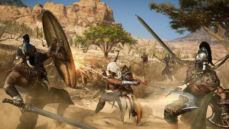 Appeared cinematic trailer for Assassin's Creed: Origins