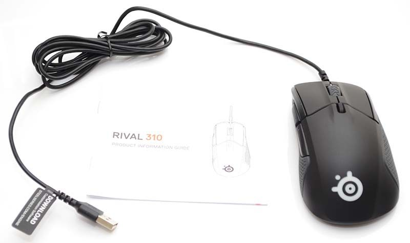 SteelSeries Rival 310 Trumove3 Optical Gaming Mouse Review