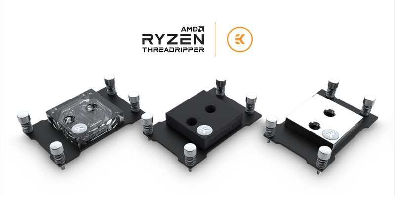 EKWB Announces Supremacy EVO Blocks for AMD Threadripper