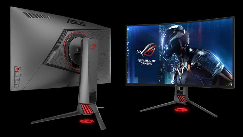 ASUS Announces RoG STRIX XG27VQ Curved 27-Inch Monitor | eTeknix