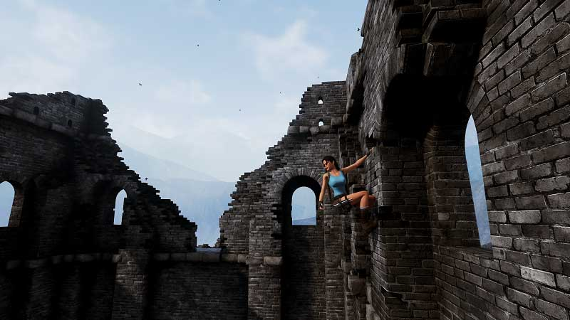 Play the Demo of Tomb Raider 2 Unreal Engine 4 Remake Now