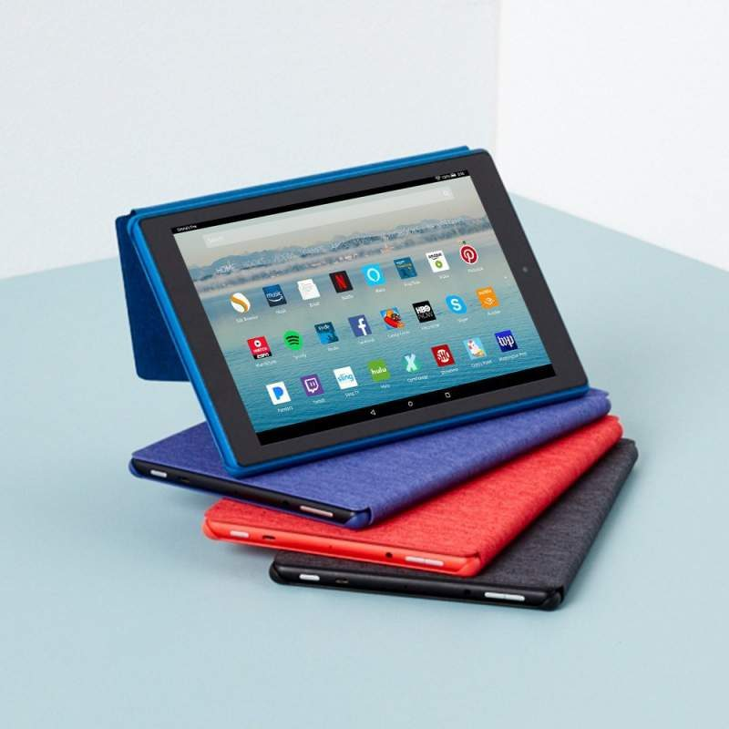 Amazon Debuts Faster and More Affordable Fire HD 10 Tablet