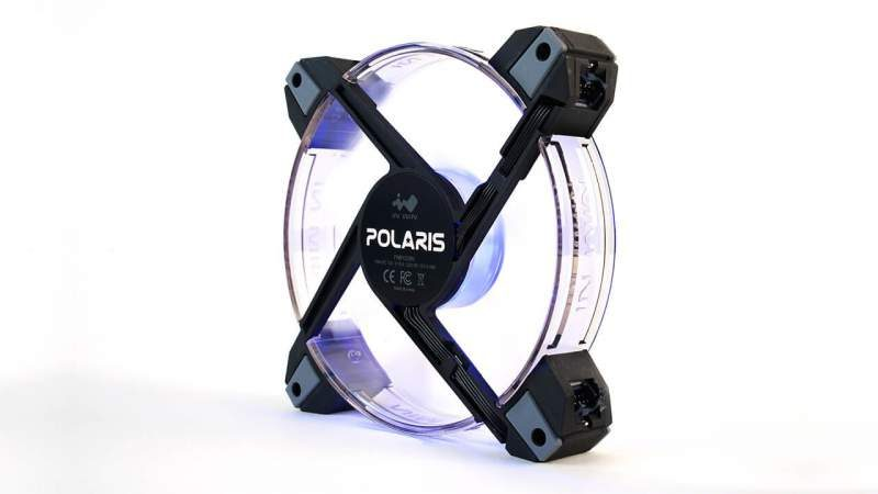 InWin Polaris RGB LED Silent Case Fans Now Available