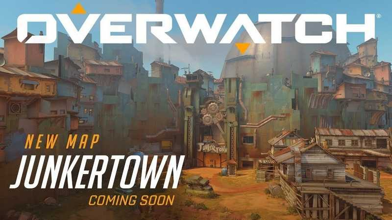 Overwatch 1.15.0.1 Patch Brings Junkertown Map to Life
