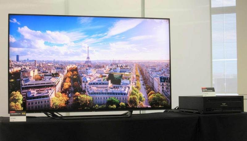 Sharp Announces AQUOS LC-70X500 70-Inch 8K TV | eTeknix