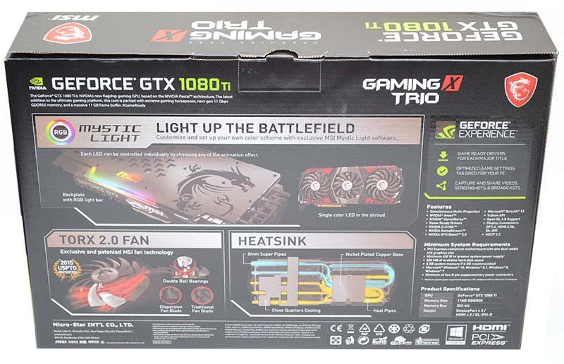 MSI Gaming X Trio GTX 1080 Ti Graphics Card Review | eTeknix